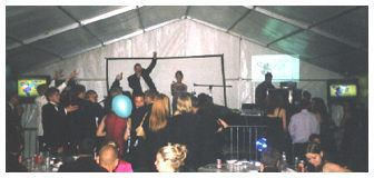 Party in a Marquee