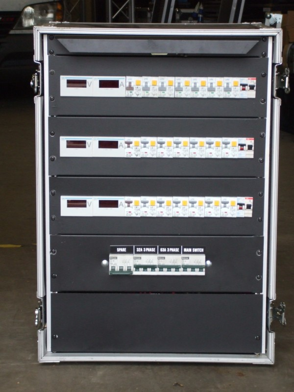 63A 3ph Rack Front