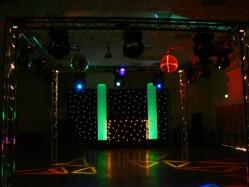 cones, lighting, lights, effects, event